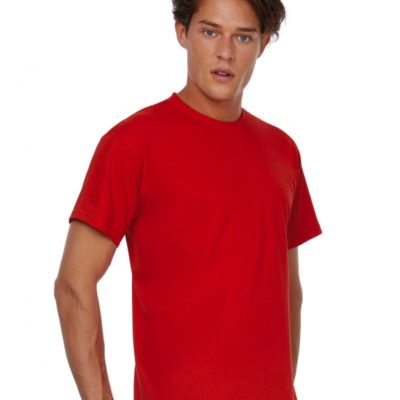 Červené pánské tričko B&CExact