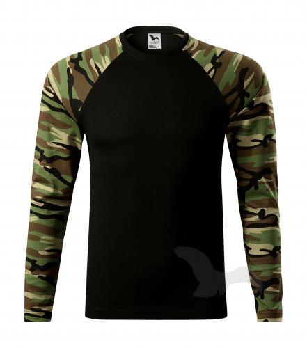 pánské tričko s dlouhým rukávem Adler CAMOUFLAGE