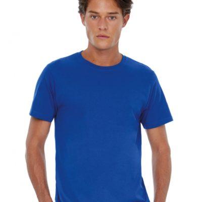 Modré pánské tričko B&C Exact