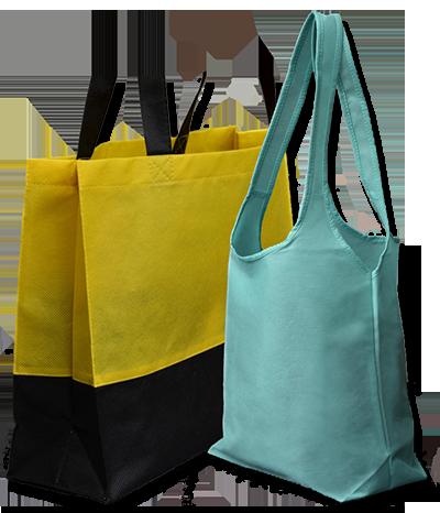 Nákupní tašky z netkané textilie
