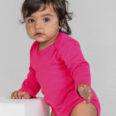 Dětské organické růžové body Babybugz