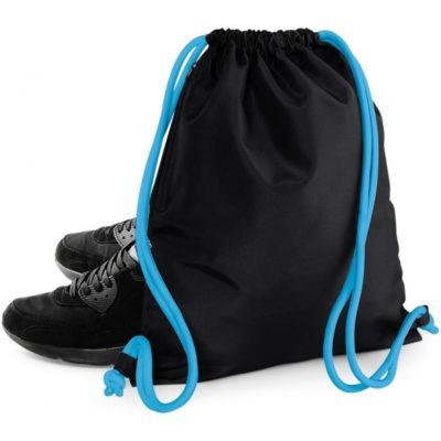černý batůžek na záda Icon Gymsac