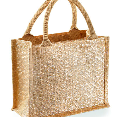 Dárková jutová taška