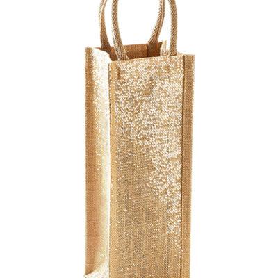Jutová taška na lahve