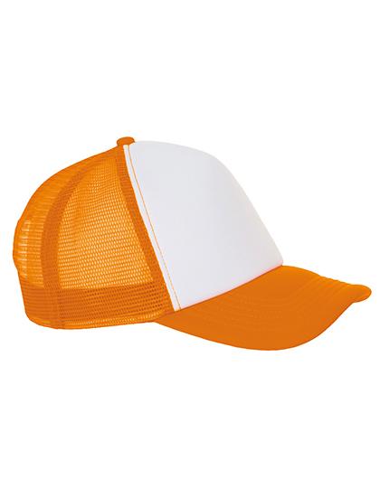 Oranžovobílá kšiltovka SOLS Bubble Cap