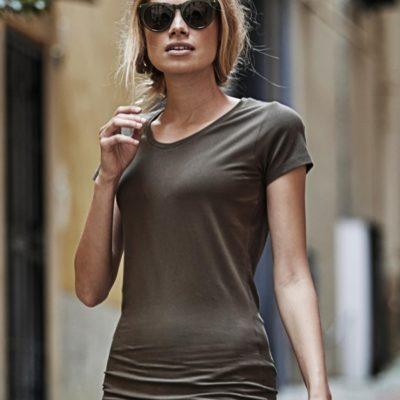 dámské tričko prodloužené Stretch Tee