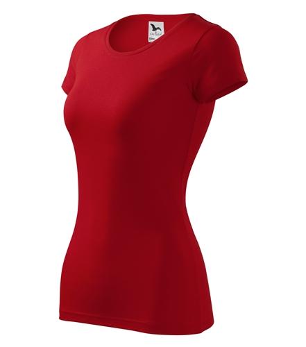 Dámské červené tričko Adler GLANCE