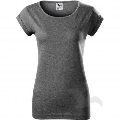 Dámské tričko s ohrnutými rukávy Adler FUSION