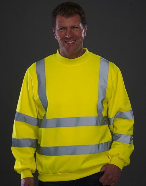 Reflexní pánská mikina High Visibility Sweatshirt