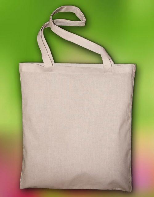 Organická bavlněná taška Popular s dlouhým uchem