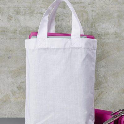 malá bavlněná taška s krátkými uchy