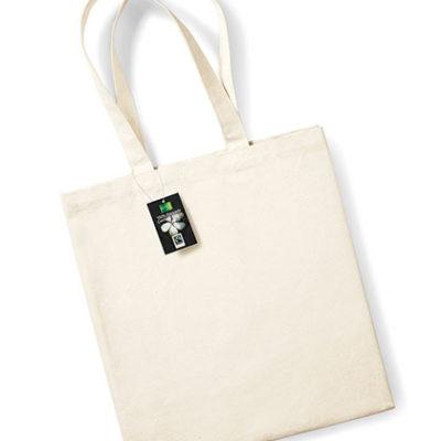 Bavlněná taška s dlouhými uchy Fairtrade