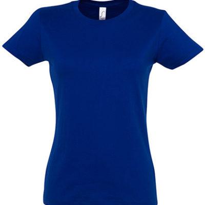 Dámské tmavěmodré tričko SOL'S s krátkým rukávem