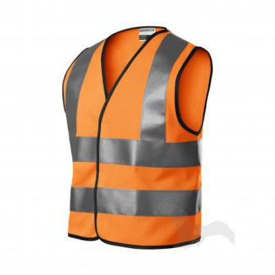 Bezpečnostní dětská oranžová vesta