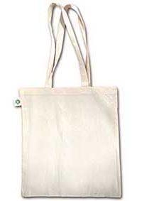 Fairtrade bavlněná taška dlouhými uchy
