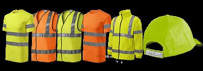 Pracovní oděvy a reflexní oblečení
