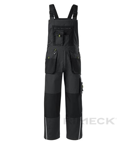 Pracovní kalhoty s laclem pánské