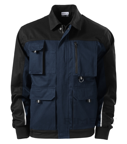 Pracovní pánská bunda na zip s kapsami WOODY