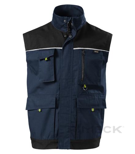 Pracovní tmavě modrá pánská vesta RANGER