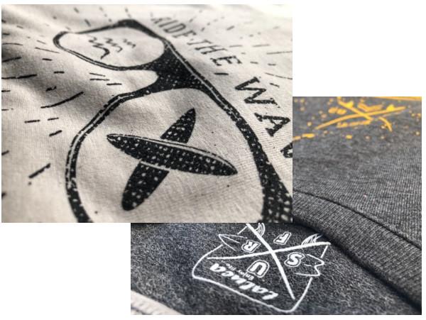 Reklamní trička a mikiny s potiskem metodou sítotisku